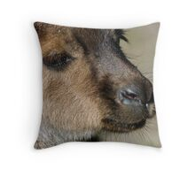 Pretty Wallaby Throw Pillow