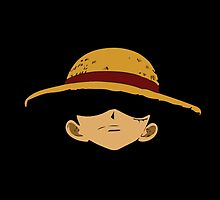 One Piece Luffy x Face by SphinxyElpadre