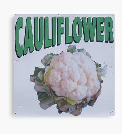 Cauliflower Canvas Print