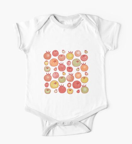 Tomatoes One Piece - Short Sleeve