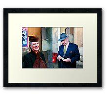 War Weekend at Pickering UK 18 Framed Print