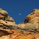 Moon in the Notch by Dr Andy Lewis