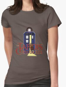 THE TARDIS CHRONICLES  Womens Fitted T-Shirt