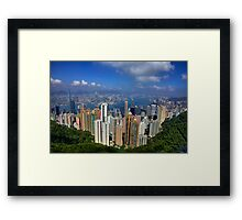The Peak Framed Print