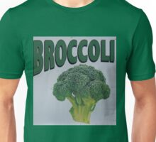 Old Farm Stand Sign Broccoli Unisex T-Shirt