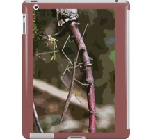 Stick insect Phasme story 14 paint   (c)(t) by Olao-Olavia / Okaio Créations fz 1000 iPad Case/Skin