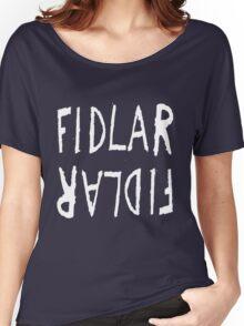 FIDLAR logo black Women's Relaxed Fit T-Shirt