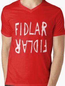 FIDLAR logo black Mens V-Neck T-Shirt