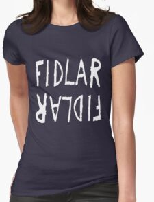 FIDLAR logo black Womens Fitted T-Shirt