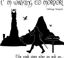 Walking to Mordor! by SalinaBeeson