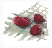 Ripe Red Radberries 6 One Piece - Short Sleeve