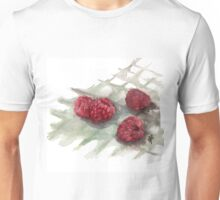 Ripe Red Radberries 6 Unisex T-Shirt