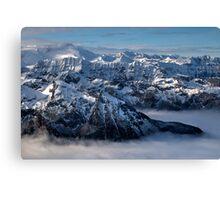 Winter on Kitzsteinhorn 98 Canvas Print