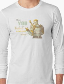 Alistair- Have you ever licked a lamppost in winter? Long Sleeve T-Shirt