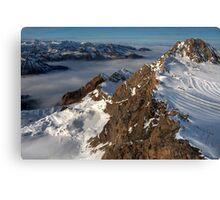 Winter on Kitzsteinhorn 100 Canvas Print