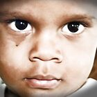 Eyes of a child by Lisa Milam