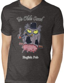 Ye Olde Cowl English Pub Mens V-Neck T-Shirt