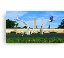 Hoops Heaven Canvas Print
