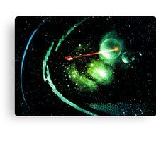 intergalactic Canvas Print