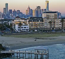 Port Melbourne Victoria by David Woolcock