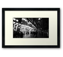 Old Navy on Market Street Framed Print