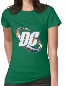 DC Comic Womens Fitted T-Shirt