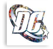 DC Comic Metal Print