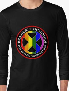 X Men Logo Long Sleeve T-Shirt