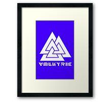 Valkyrie geek funny nerd Framed Print