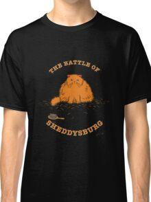 The Battle of Sheddysburg Cat Classic T-Shirt