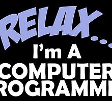 RELAX I'M A COMPUTER PROGRAMMER by fancytees