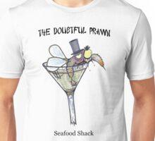 The Doubtful Prawn Seafood Shack Unisex T-Shirt