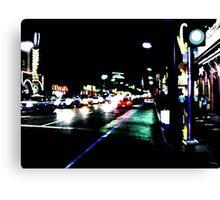 US Night  Canvas Print