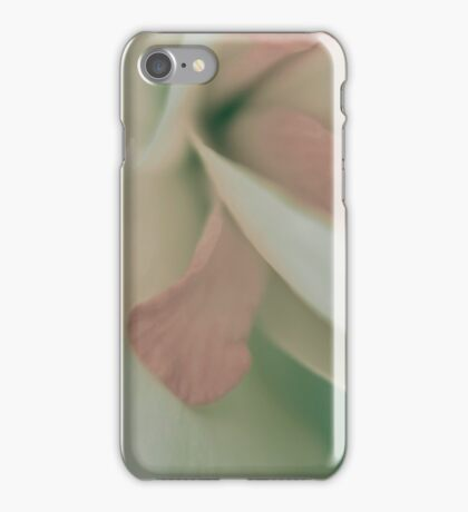 Daffodil macro iPhone Case/Skin