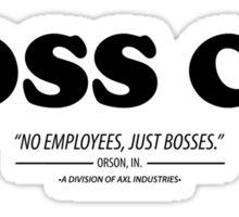 Boss Co. Sticker