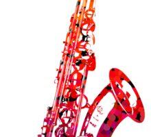 Sax Sticker