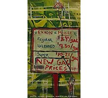 EXXON MOBILE Photographic Print