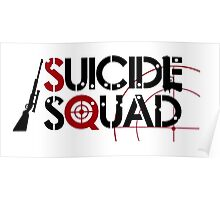 Suicide Squad logo Poster