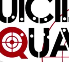 Suicide Squad logo Sticker