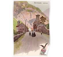 Leopoldo Metlicovitz 1906  Gondo Poster