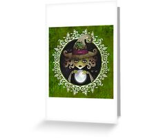 Elphaba, the Wicked Witch of the West Greeting Card
