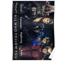 "Batman: Arkham Knight ""All Who Follow You"" Poster"