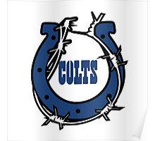 Indianapolis Colts logo 2 Poster