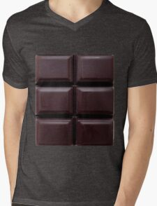 6 pack chocolate abs Mens V-Neck T-Shirt