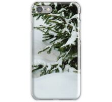 Tree in the Snow iPhone Case/Skin