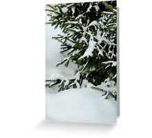 Tree in the Snow Greeting Card