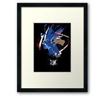 Survey Corps Stitch Framed Print