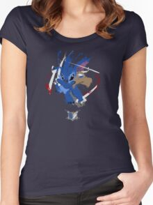 Survey Corps Stitch Women's Fitted Scoop T-Shirt