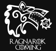 Ragnarok is Coming (redesign) Kids Clothes