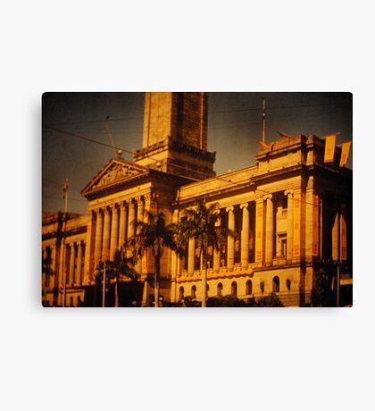 Brisbane City Hall 1954 Canvas Print